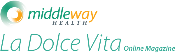 Logo for Middle Way Health's online magazine La Dolce Vita