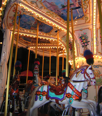 image of a carousel
