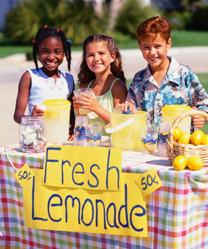 image of a lemonade stand