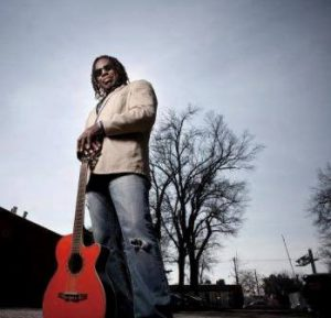 clemon charles with guitar for la dolce vita song